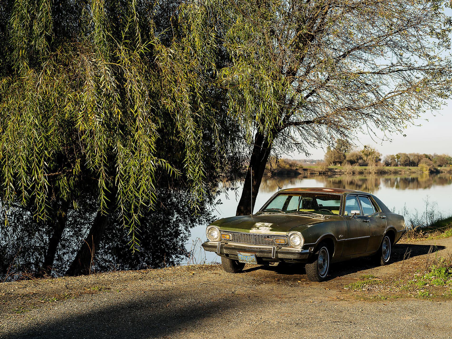 Maverick parked at Sacramento River