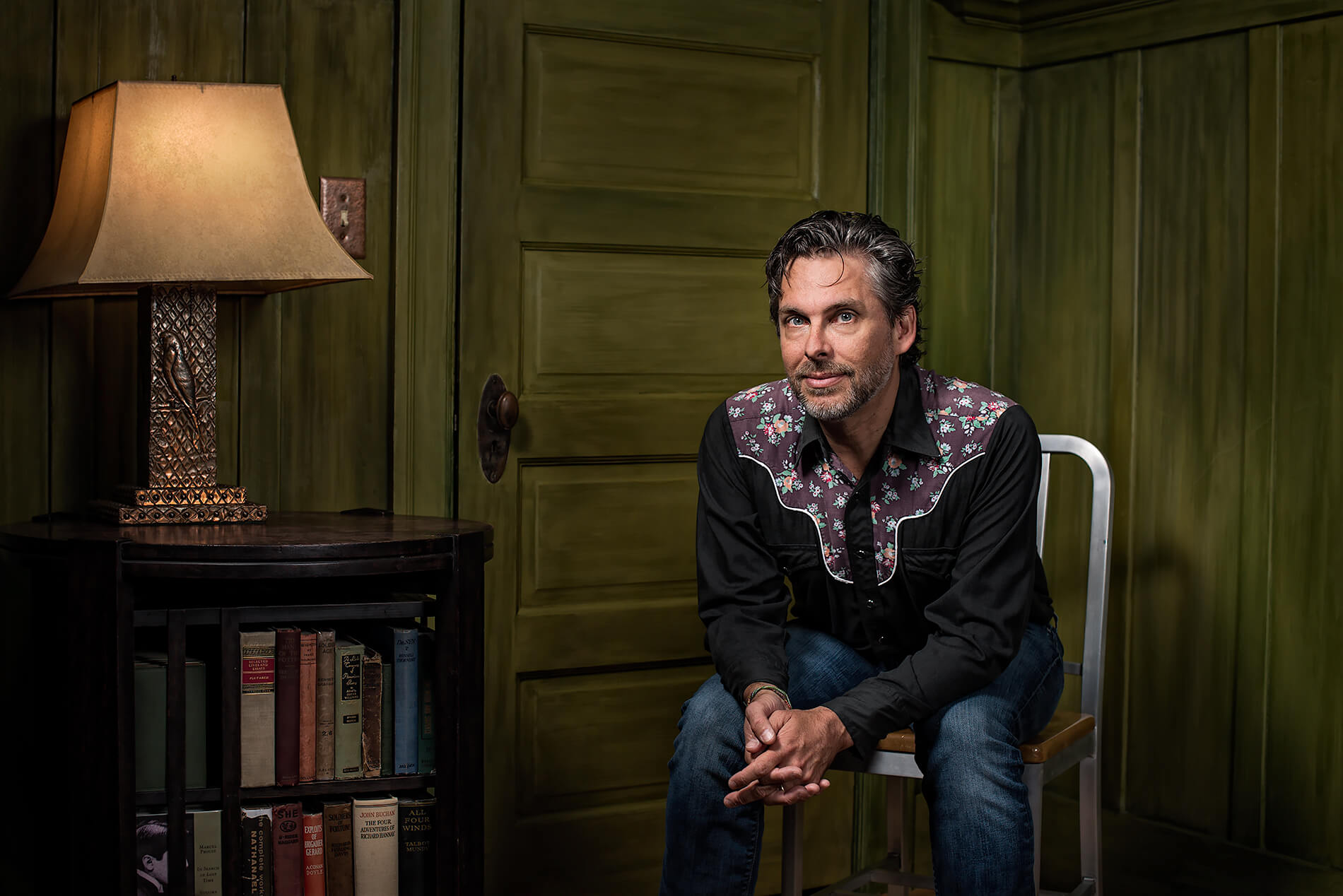 Author Michael Chabon at home