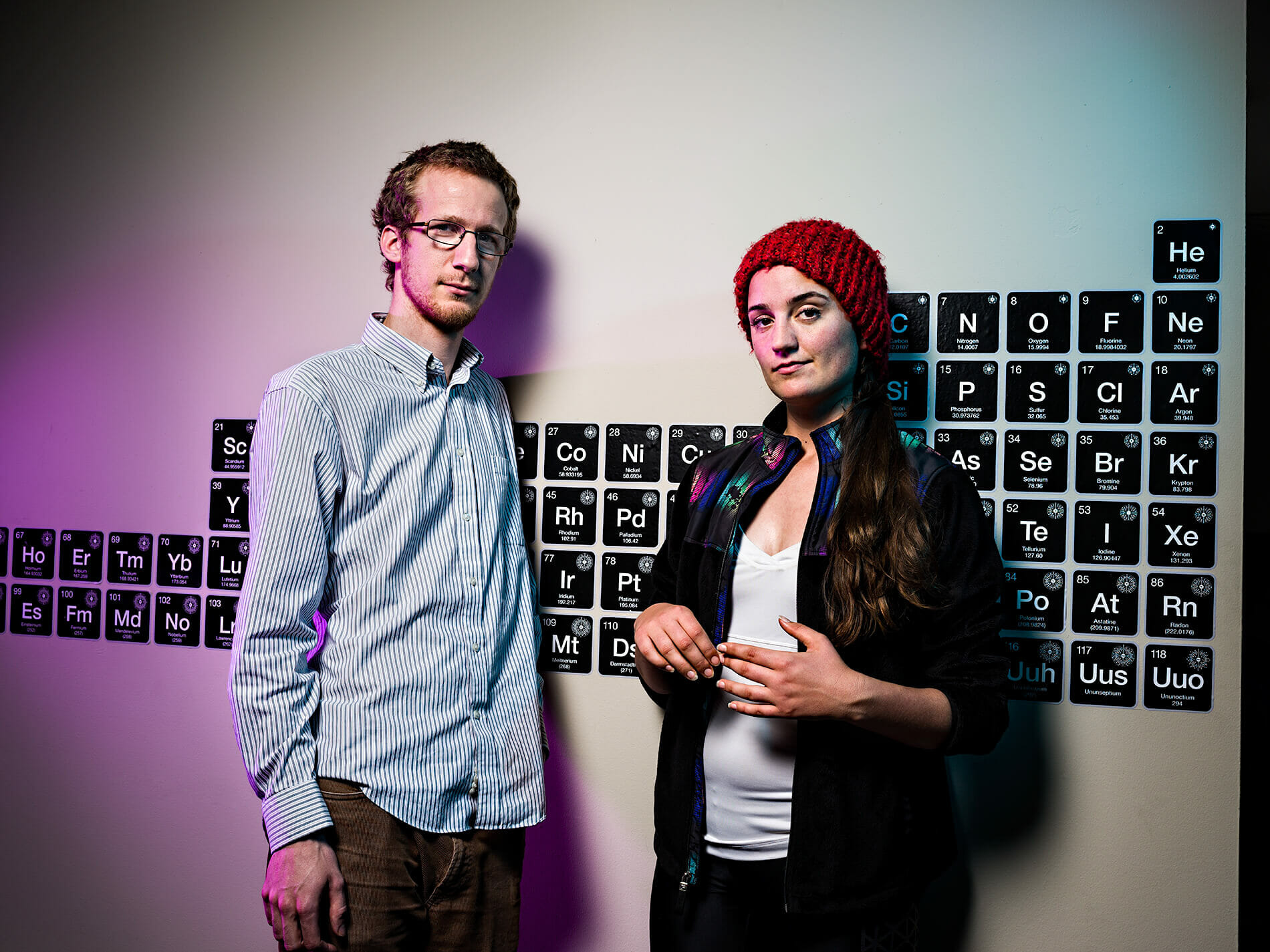 Alex Neckelmann & Jennifer Kaehms of Bioloop