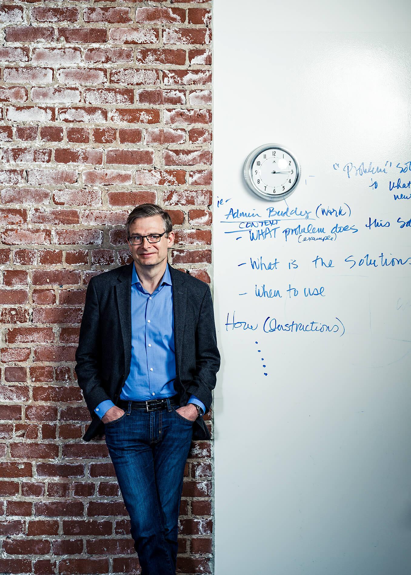Geoff Brigham of Wikimedia Foundation
