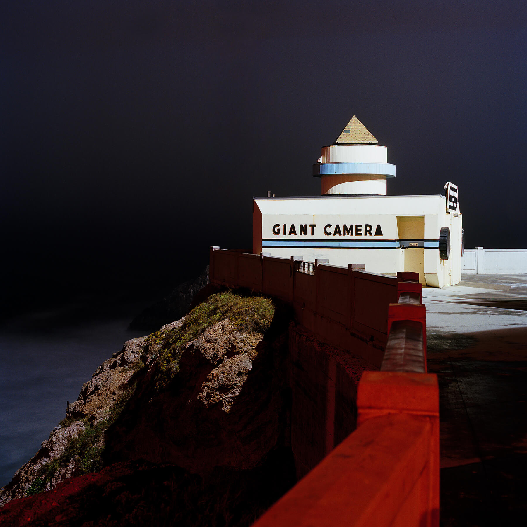 Camera Obscura at Cliff House, San Francisco at night