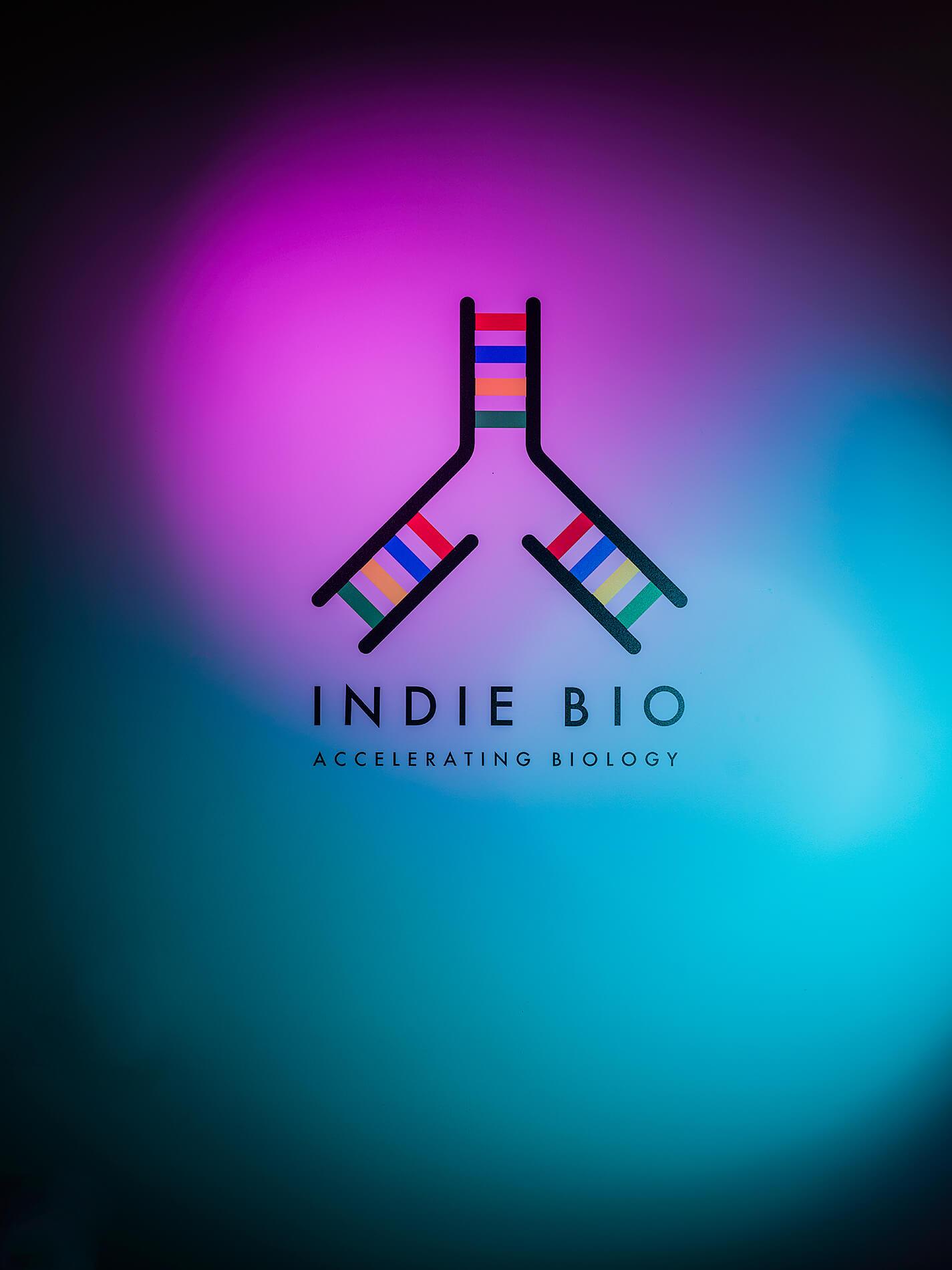 Indie Bio logo