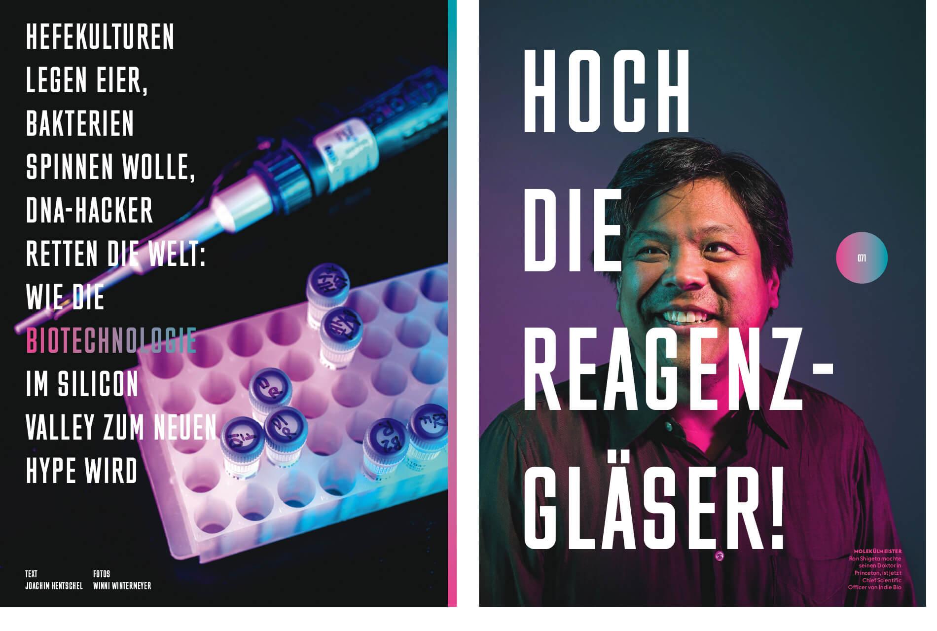 Indie Bio Wired magazine