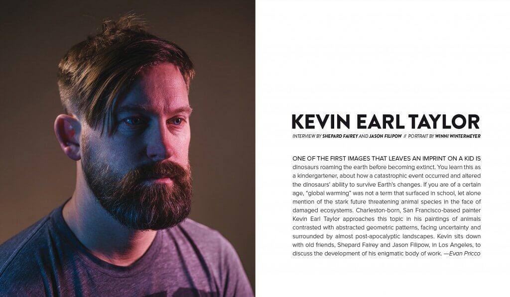 Juxtapoz article about Kevin Earl Taylor