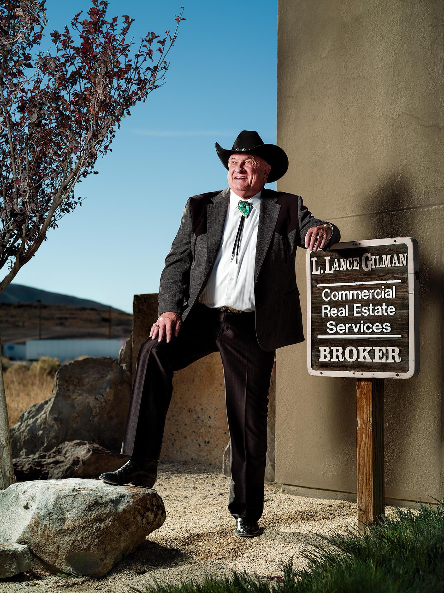 Lance Gilman in Sparks, Nevada