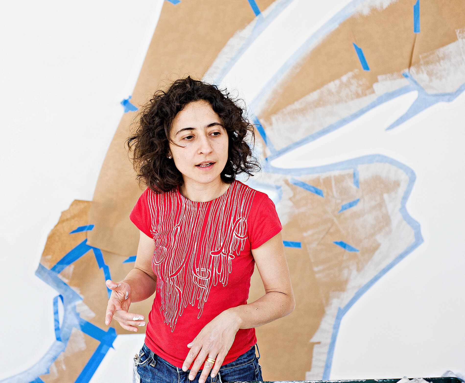 Artist Rosana Castrillo Diaz