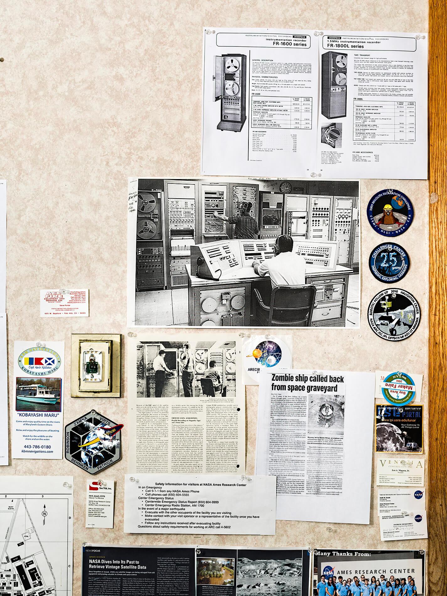 Space travel memorabilia and articles