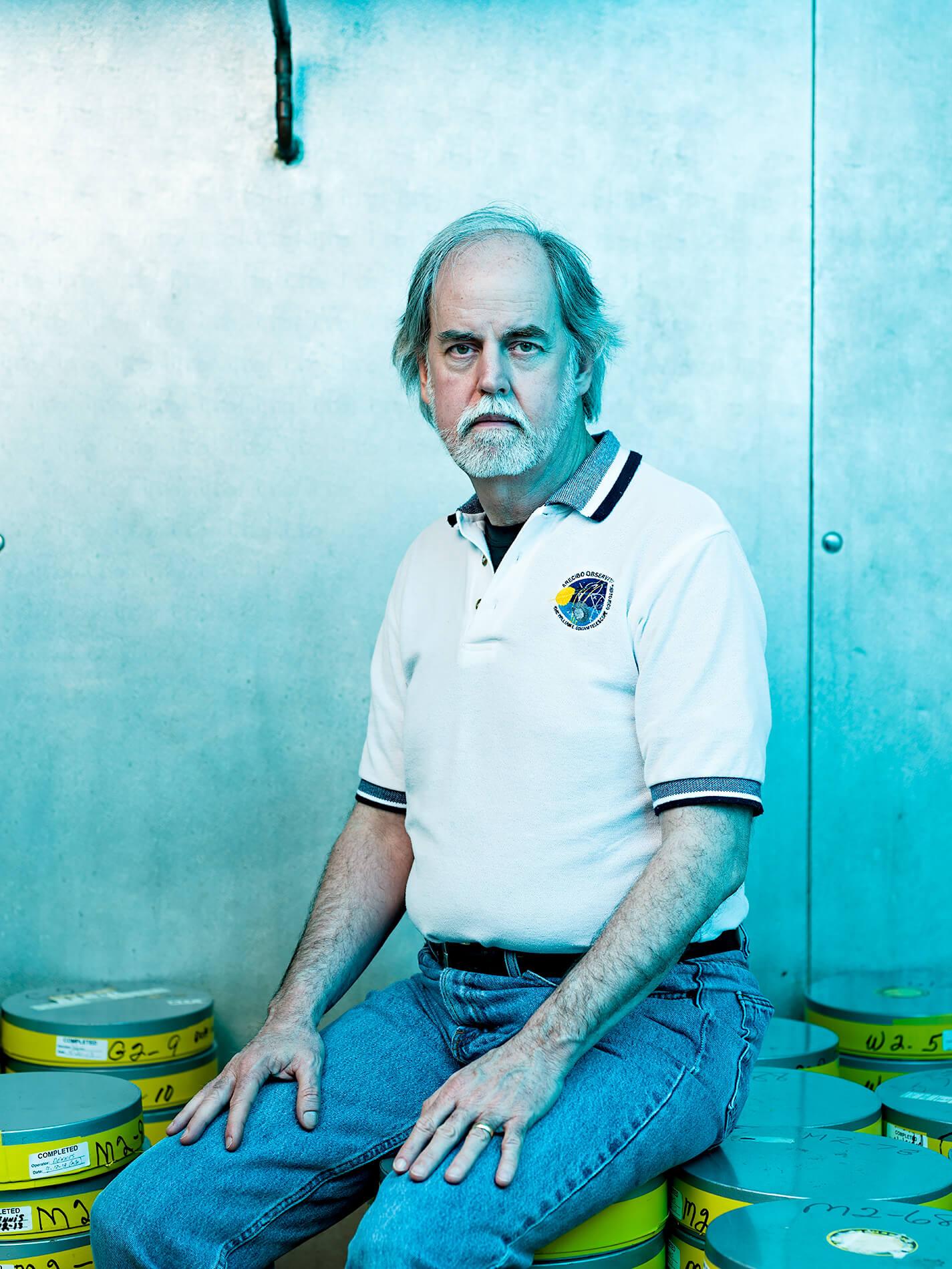 Portrait of Dennis Wingo at Mc Moon's