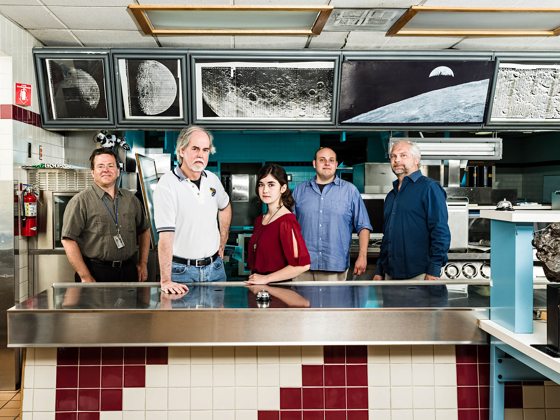 Dennis Wing and team, the Lunar Orbiter Image Recovery Project