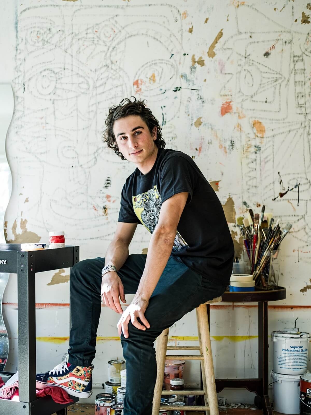 Zio Ziegler portrait in studio