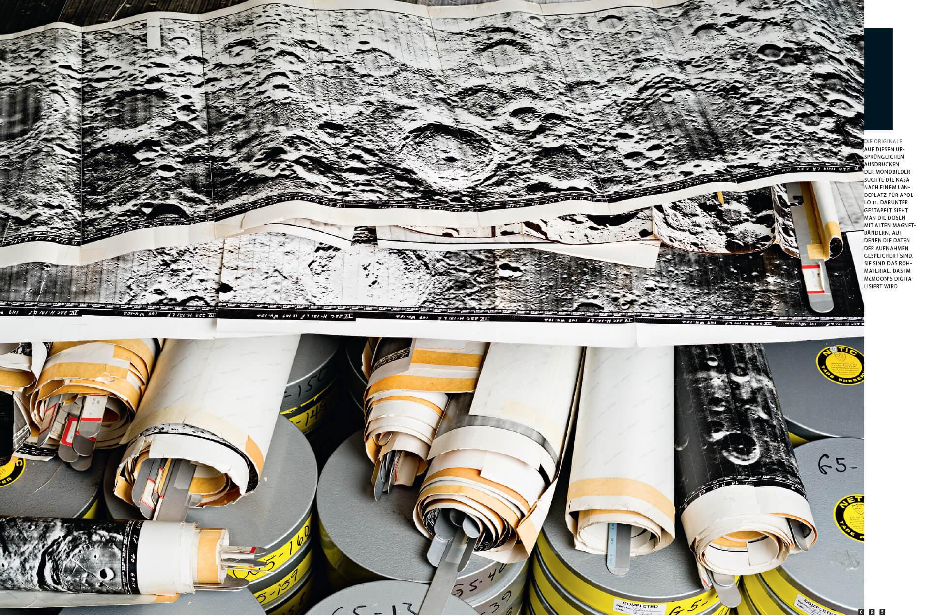 Mc Moon's Wired tear sheet