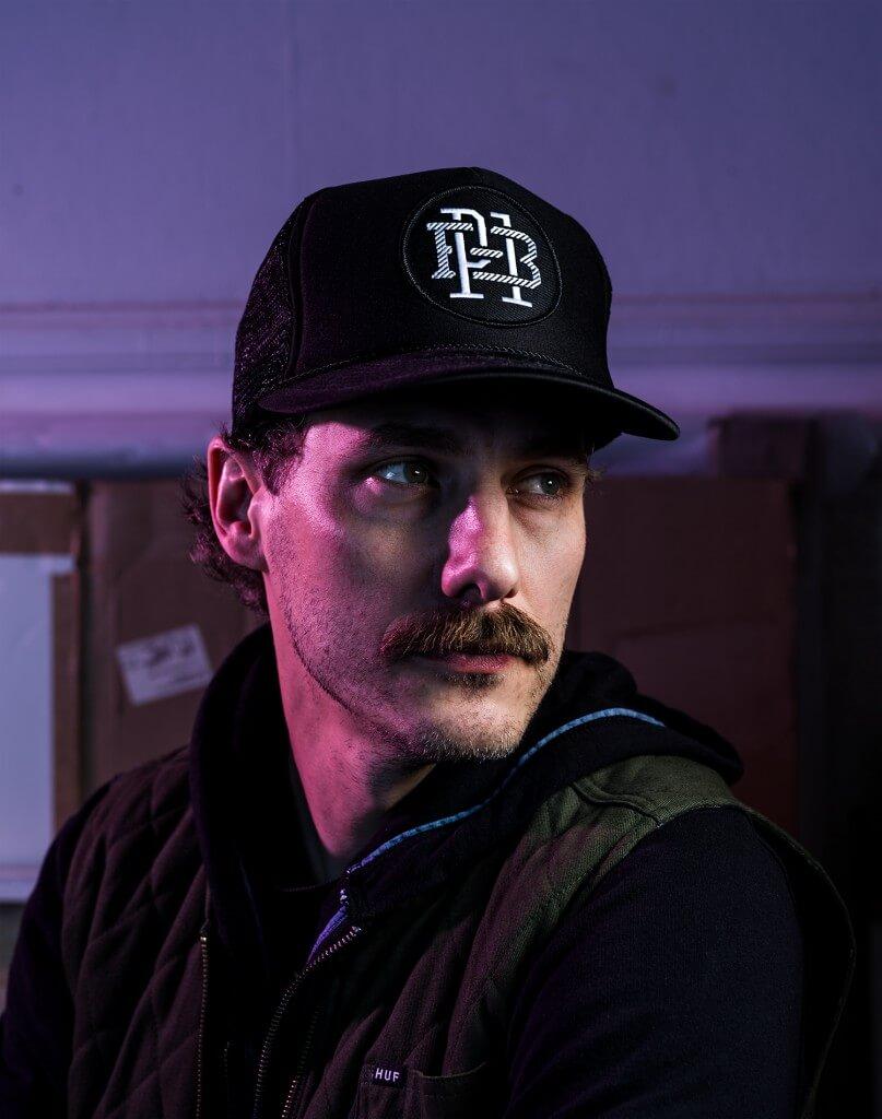 Portrait of Ben Venom aka Ben Baumgartner