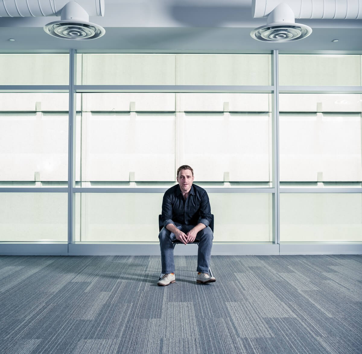 Portrait of Slack CEO Stewart Butterfield