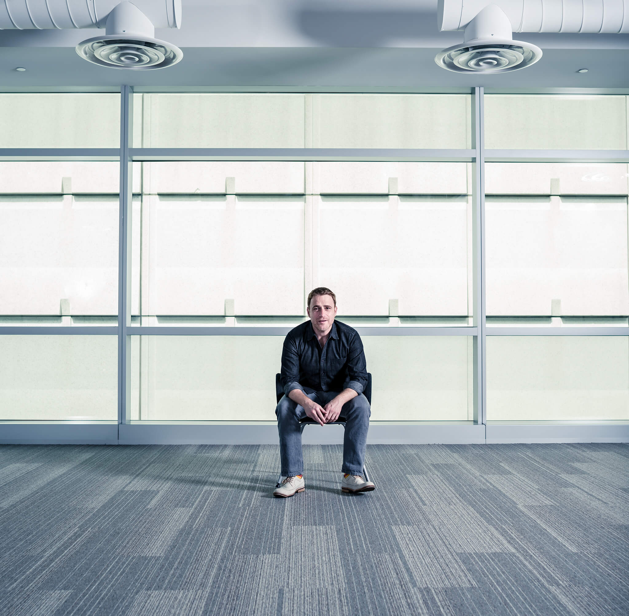 Portrait of Slack CEO Stewart Butterfield