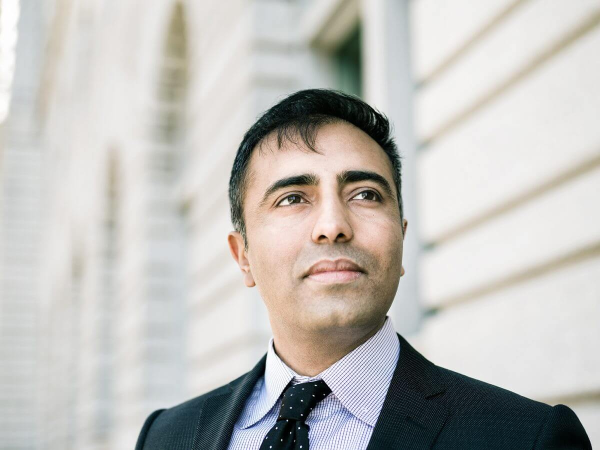 Inder Comar in front of the United States Court of Appeal for the Ninth Circuit in San Francisco