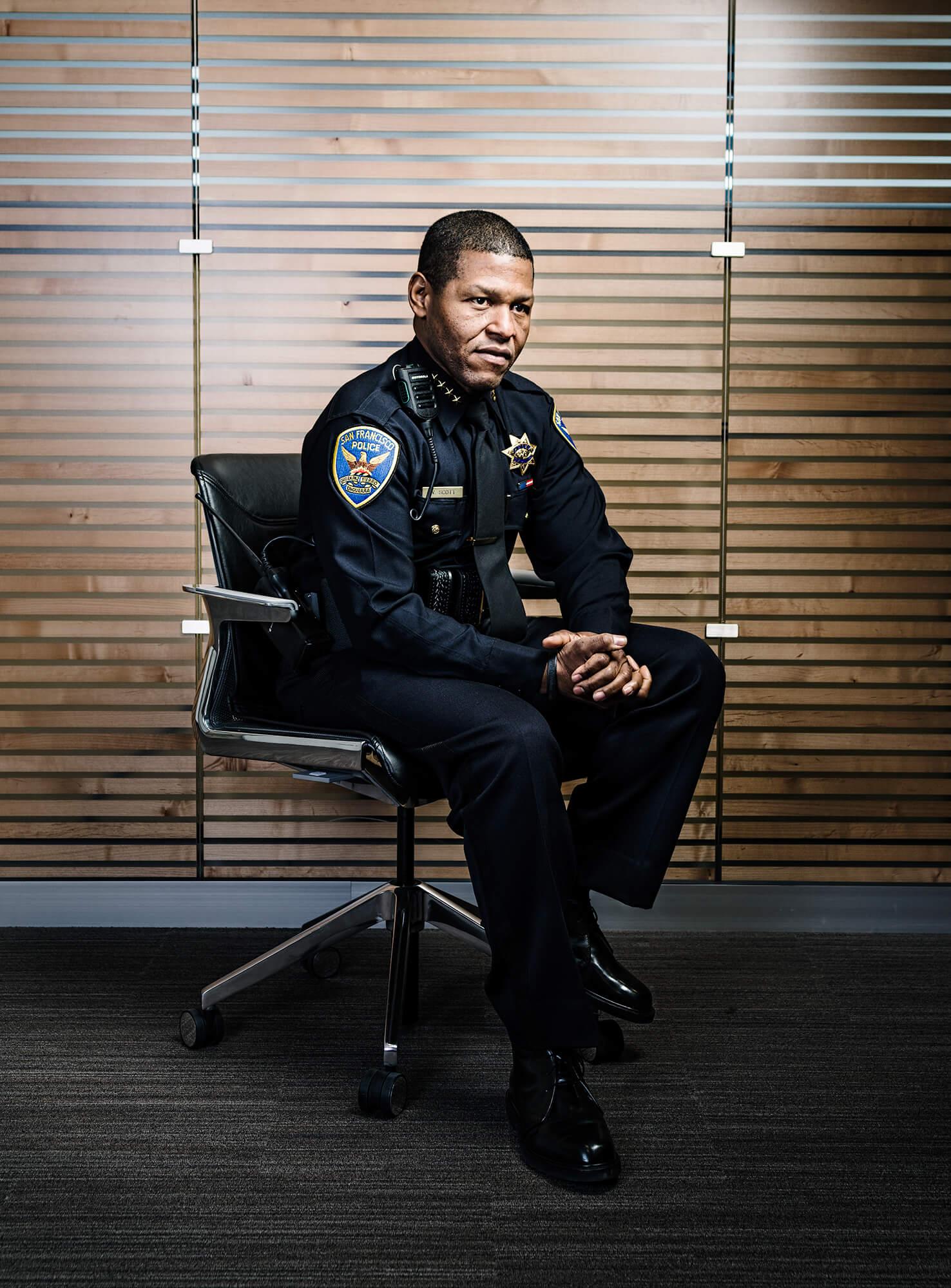 SFPD chief William Scott