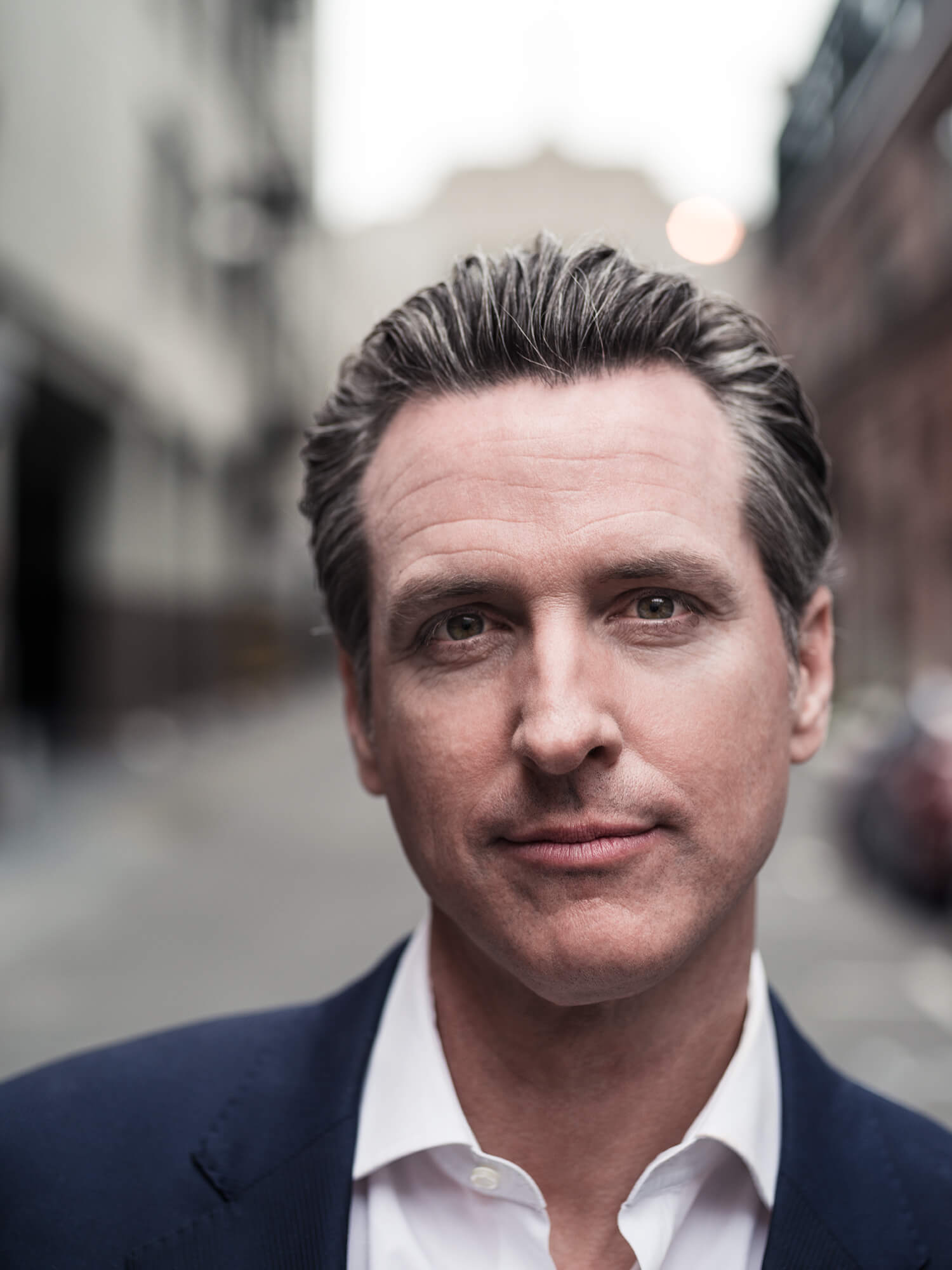 Gavin Newsom in San Francisco