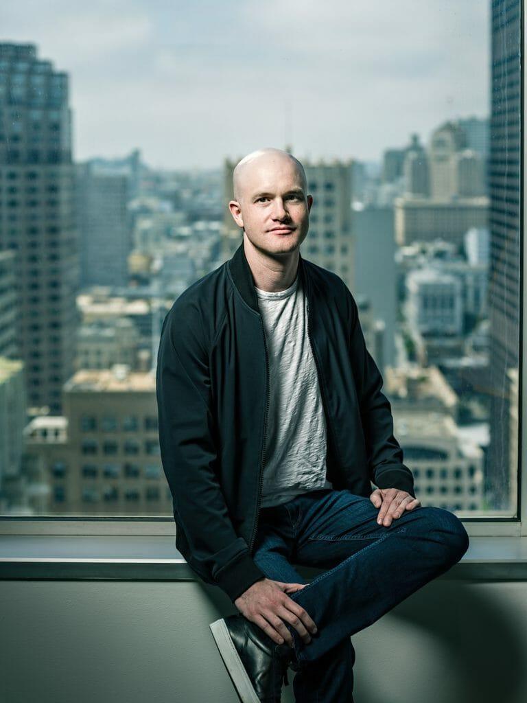 Brian Armstrong of Coinbase