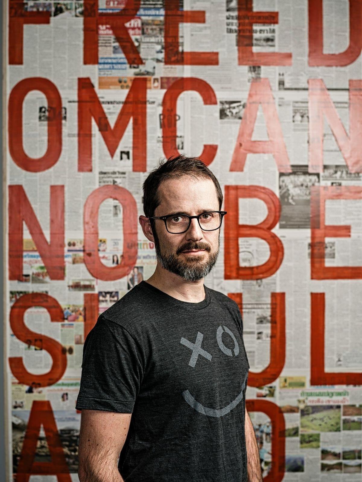 Portrait of Evan Williams, founder of Medium