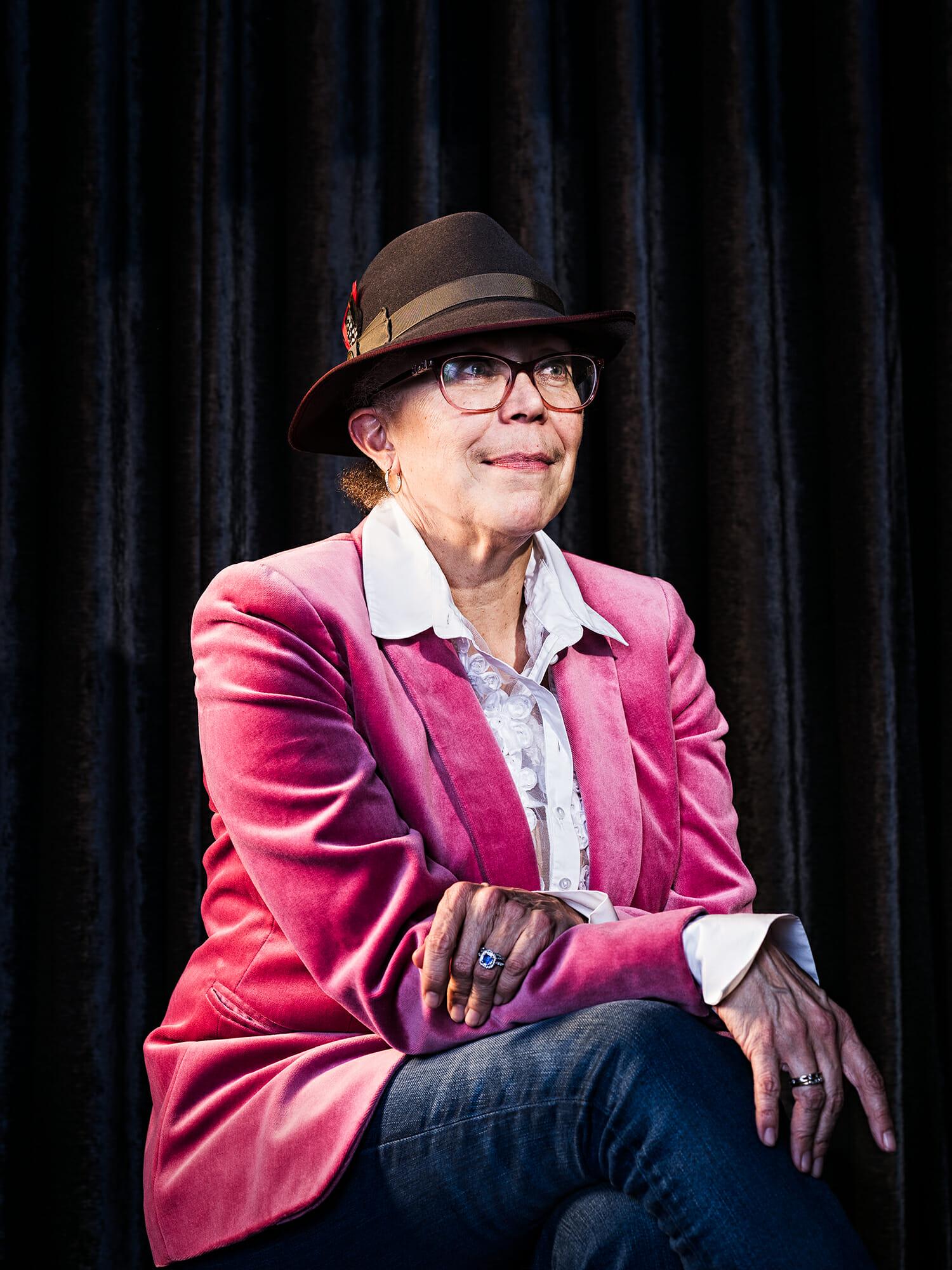 Portrait of Maira Benjamin, head of engineering at Pandora