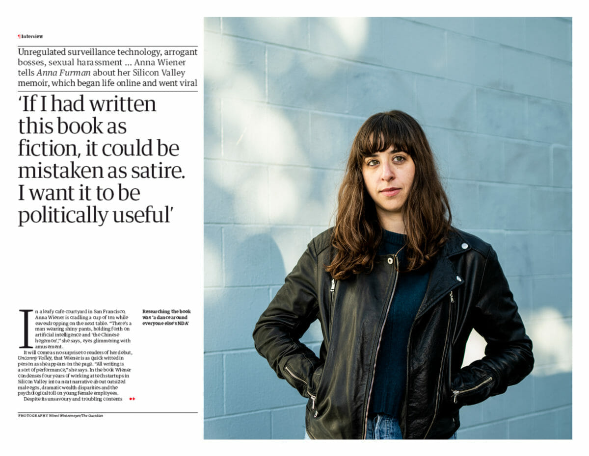 Anna Wiener Interview The Guardian
