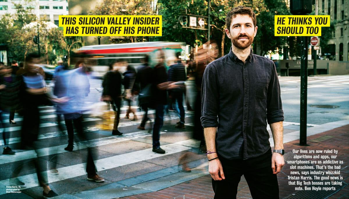 Tristan Harris Times London article