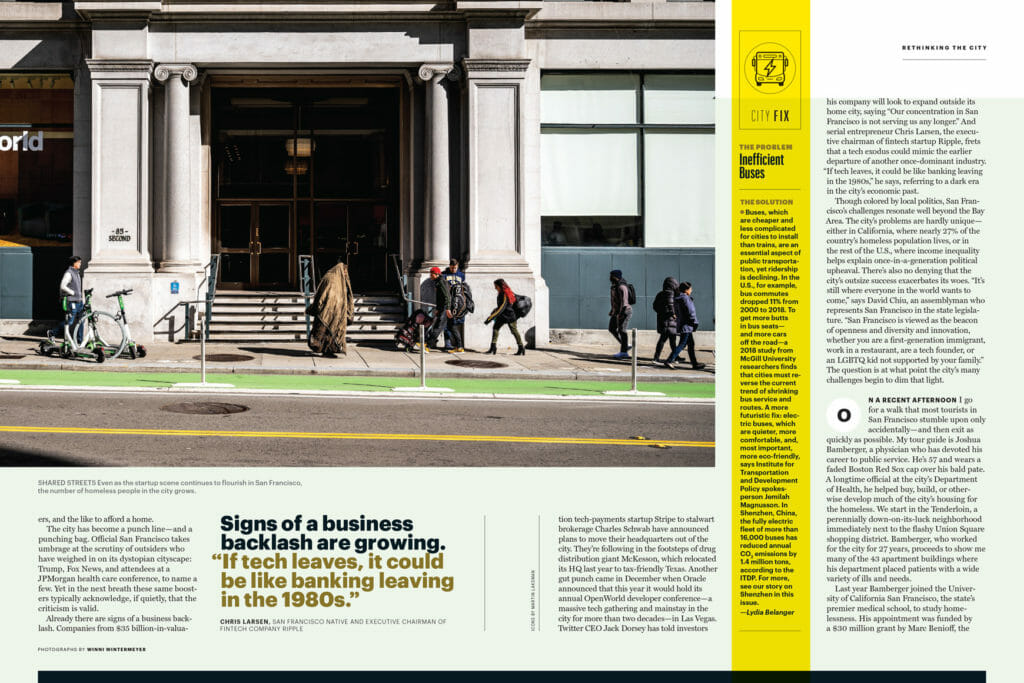 San Francisco Fortune Magazine Rethinking The City special