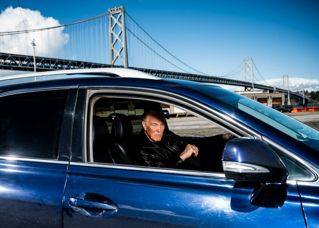 Joe Renice, Uber driver in San Francisco.
