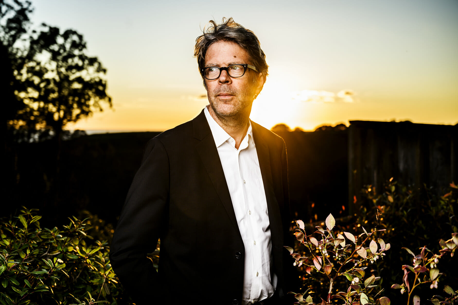 Portrait of author Jonathan Franzen