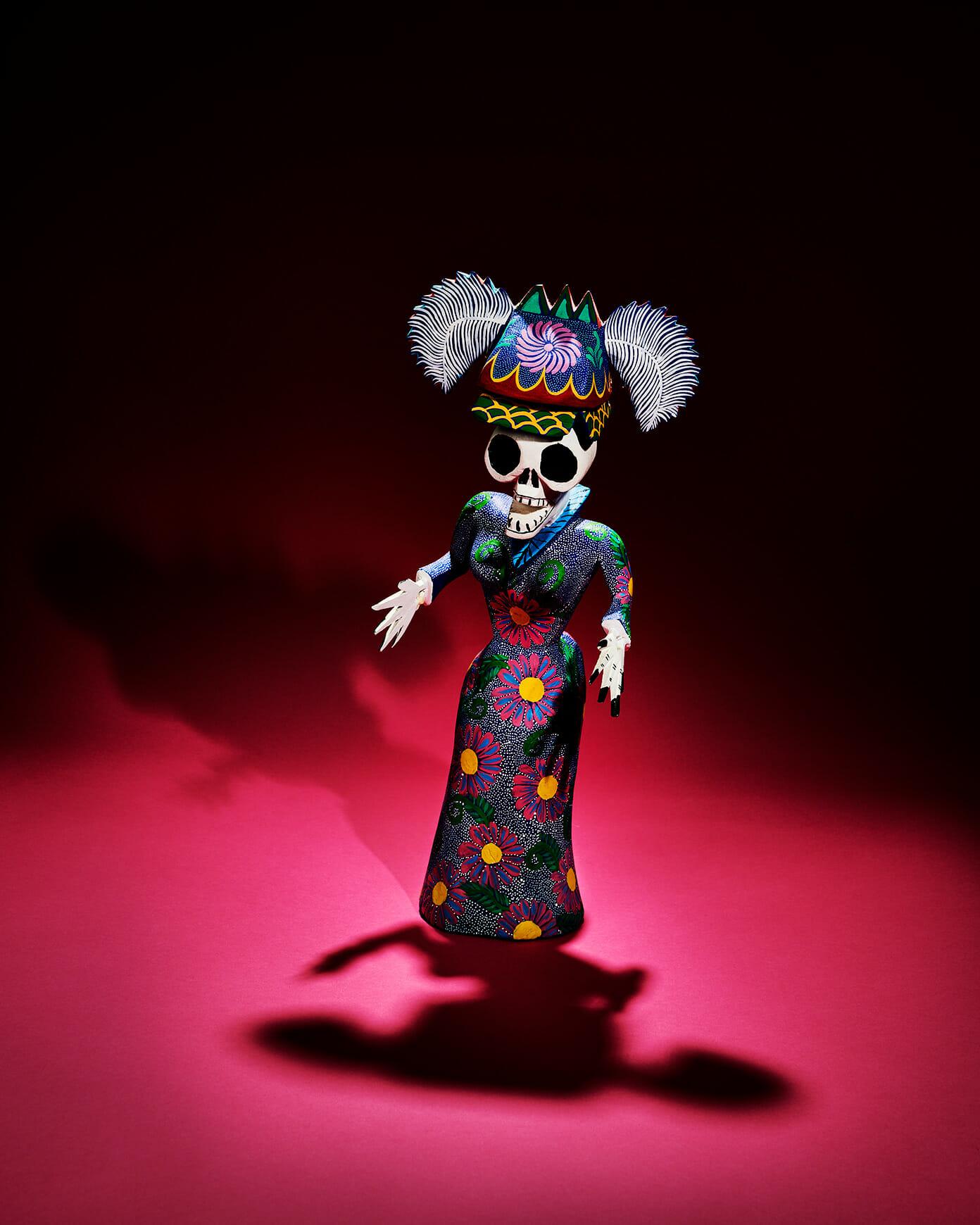 Dia de los Muertos Day of the Dead figurine