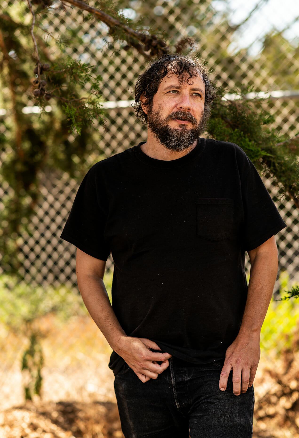 Portrait of Dave who lives in a camper van